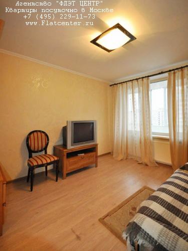 Квартира посуточно на м.Выставочная,Шмитовский пр-д д.24.