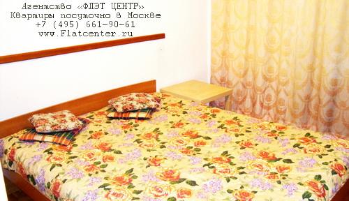 Квартира посуточно в Москве рядом с м.Юго-Заподная,26 Бакинских Комисаров, 14