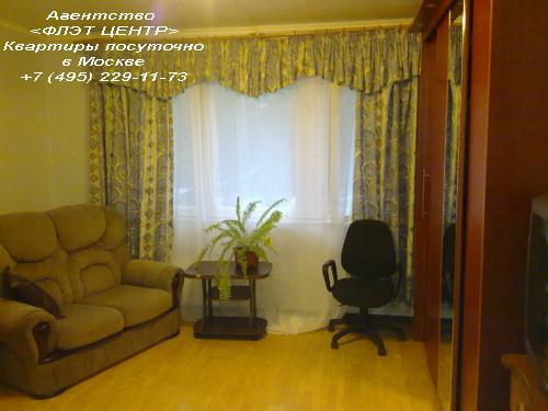 Квартира посуточно на м.Юго-Западная, ул.Б.Очаковская д.32.
