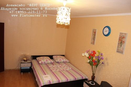 Квартира посуточно на м.Юго-Западная,ул.26-ти Бакинских Комиссаров д.3.