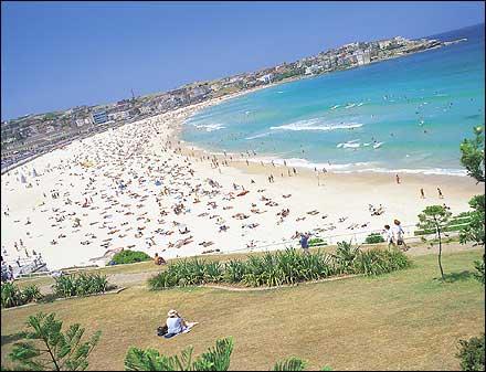 Бонди-Бич -  пляж в Австралии