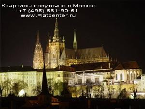 Ночная фотография Чехии