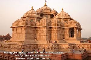 Фотографии архитектурных сооружений Индии
