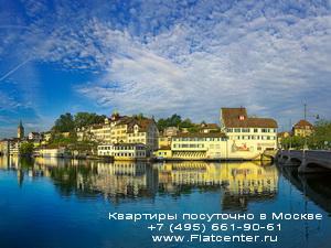 Фотография жилых зданий Швеции