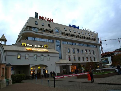 Сухаревская площадь - вид со Сретенки