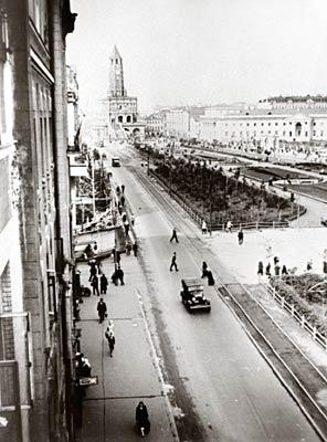 Сухарева башня и сухаревская площадь